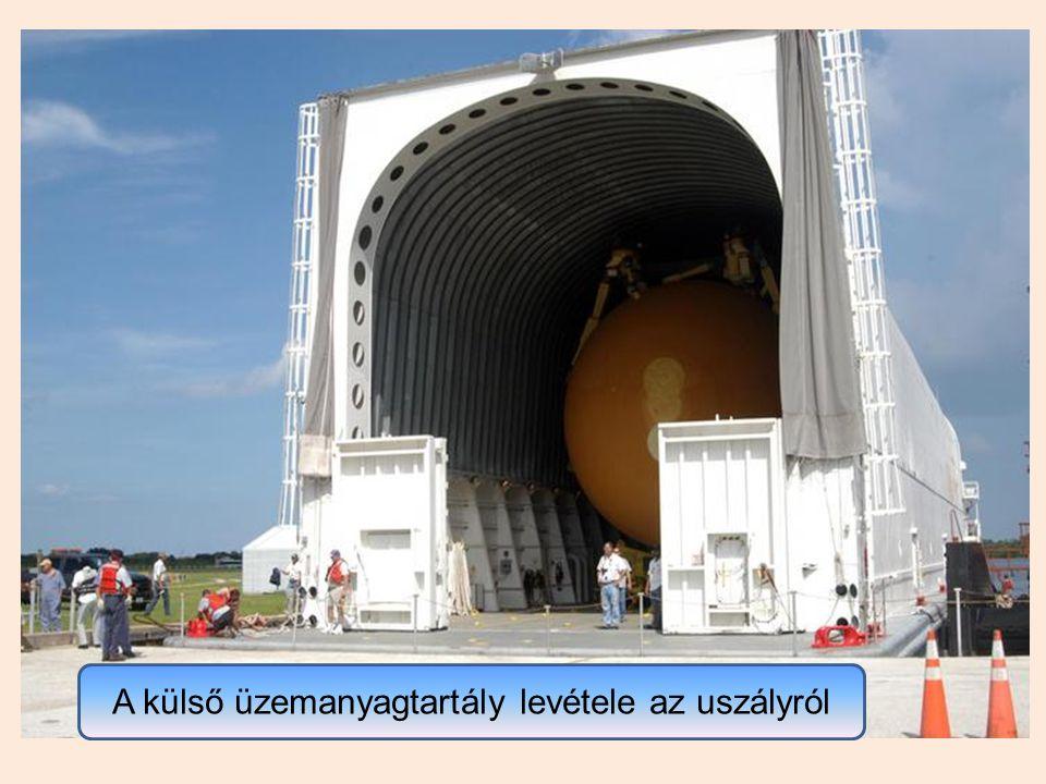 A Discovery űrrepülőgép 2008.május 31-én sikeresen felszállt és június 14-én tért vissza.
