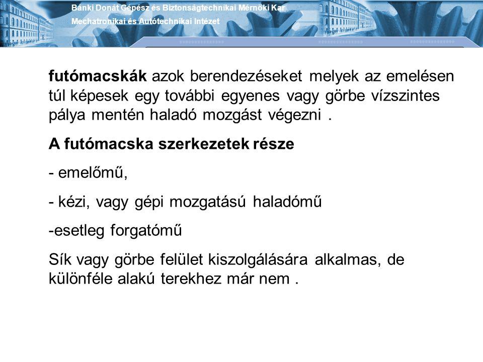 Bánki Donát Gépész és Biztonságtechnikai Mérnöki Kar Mechatronikai és Autótechnikai Intézet a.) jobb keresztsodrású, b.) bal keresztsodrású, c.) jobb hosszsodrású, d.) bal hosszsodrású Az ábra (6+12+18)7=252 elemi szálból egy középső kenderbetéttel készült pászmaspirálos acélkötél-szerkezetet mutat
