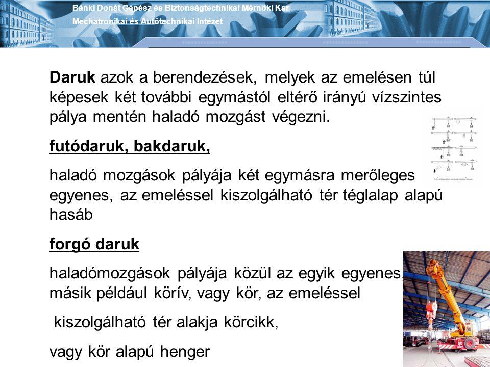 Bánki Donát Gépész és Biztonságtechnikai Mérnöki Kar Mechatronikai és Autótechnikai Intézet Különleges szerkezetű kötelek.