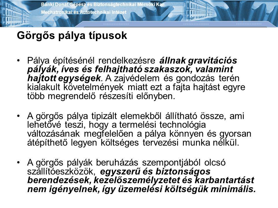 Bánki Donát Gépész és Biztonságtechnikai Mérnöki Kar Mechatronikai és Autótechnikai Intézet Rédler