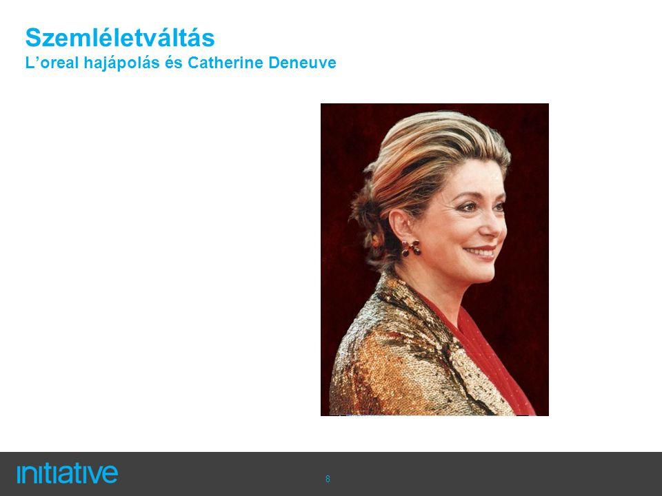 8 Szemléletváltás L'oreal hajápolás és Catherine Deneuve