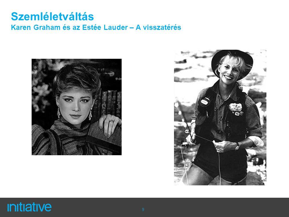 9 Szemléletváltás Karen Graham és az Estée Lauder – A visszatérés