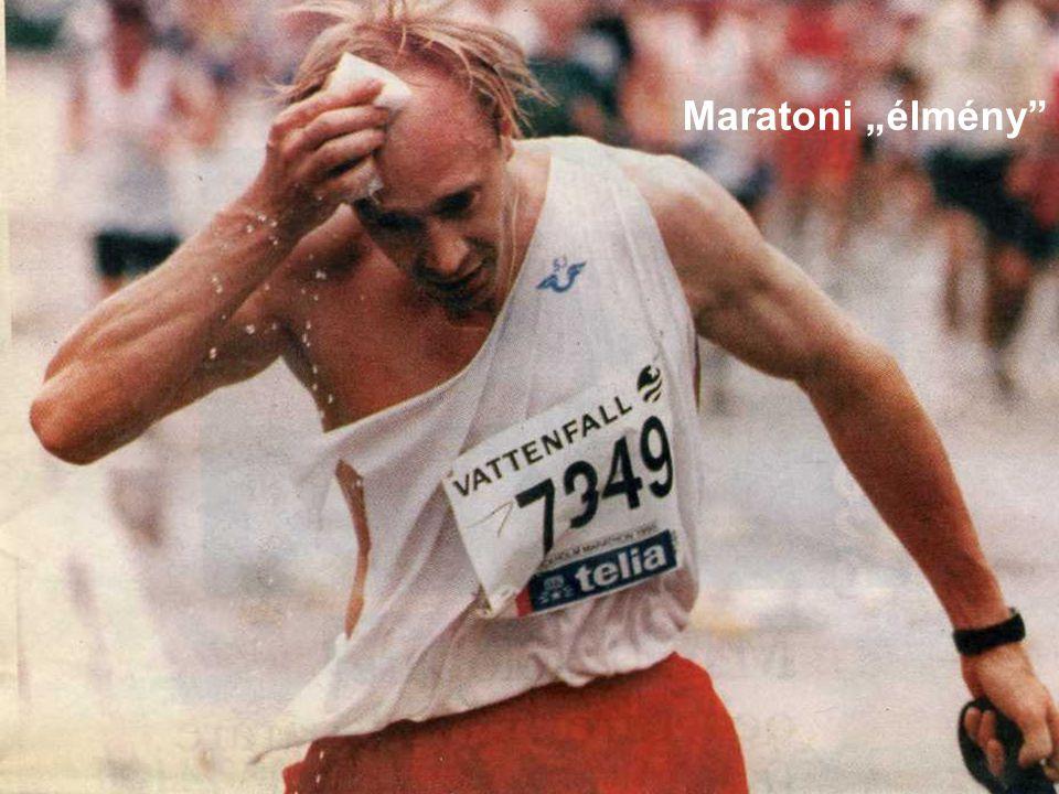 """Maratoni """"élmény"""