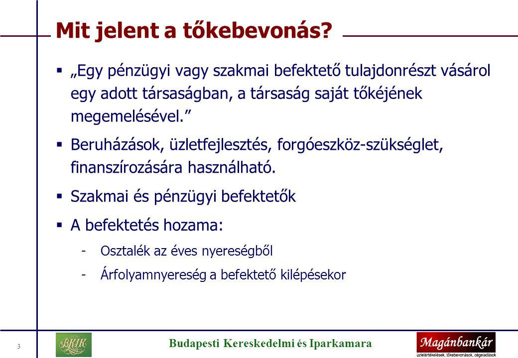 Budapesti Kereskedelmi és Iparkamara 14 A Magánbankár Kft.