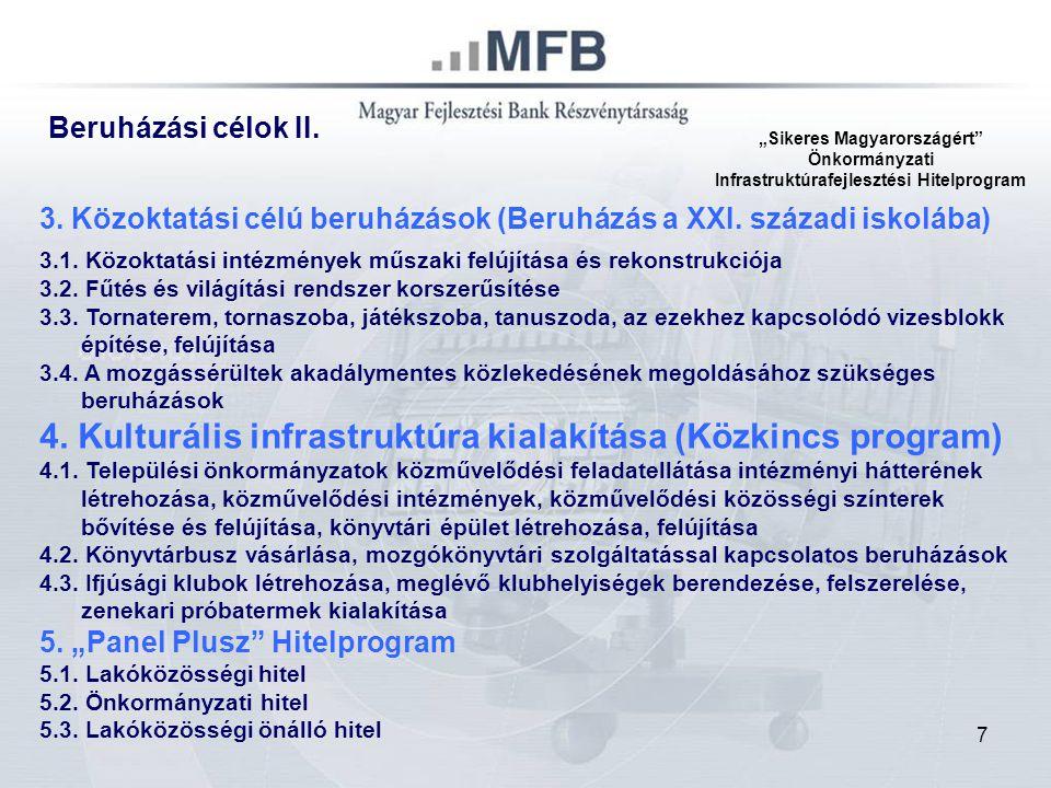 18 A/ Agrár Beruházási HITEL Mezőgazdasági Termékek tárolása, termelésfejlesztést szolgáló beruházások B/ Agrár Feldolgozóipari HITEL Mg termelők termelésű termékek feldolgozása, forgalmazása C/ Fiatal Agrárvállalkozói HITEL termelési tevékenység megkezdéséhez Agrárfejlesztési Hitelprogram 40 Mrd Ft
