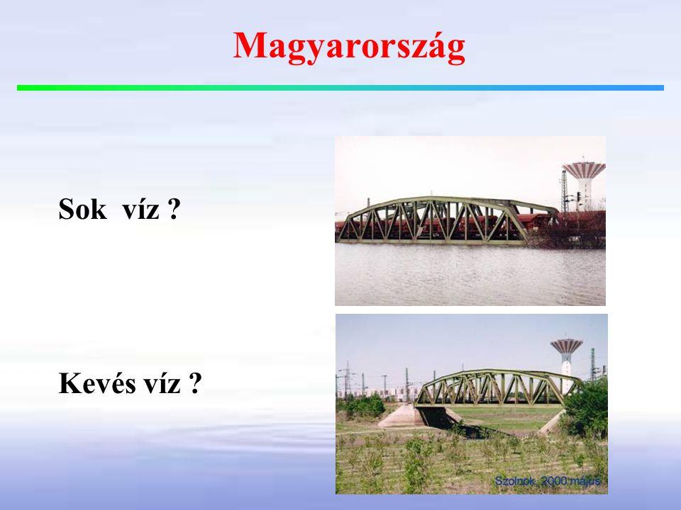 Sok víz ? Kevés víz ? Magyarország