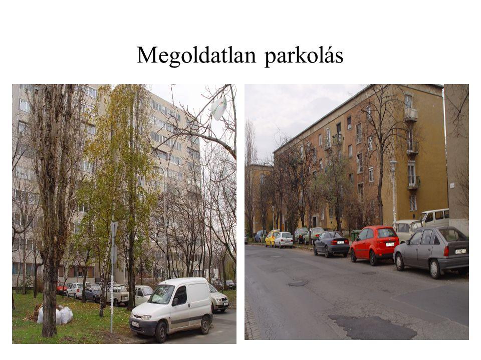 Megoldatlan parkolás