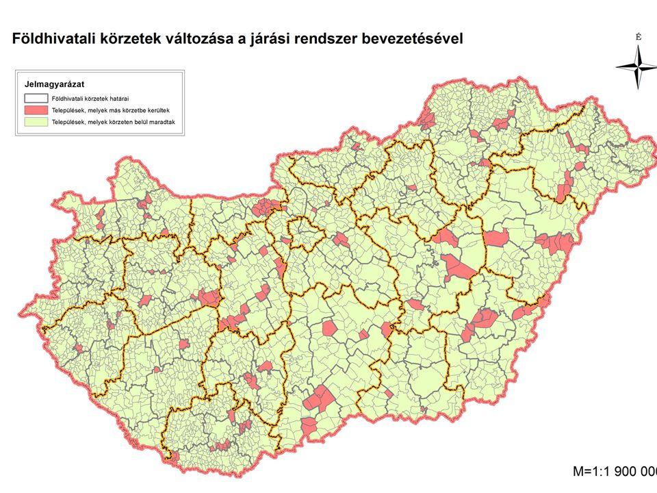 A földhivatali feladatok csoportosítása: Földmérés (a földmérési alaptérkép nyilvántartási példánya) Ingatlan-nyilvántartás (tulajdoni lap) Földhasználati nyilvántartás (földhasználati lap) Földvédelem, földminősítés (határszemle, parlagfű, aranykorona) A f öldhivatal státusza: A földhivatalokról, a Földmérési és Távérzékelési Intézetről, a Földrajzinév Bizottságról és az ingatlan-nyilvántartási eljárás részletes szabályairól szóló 338/2006.