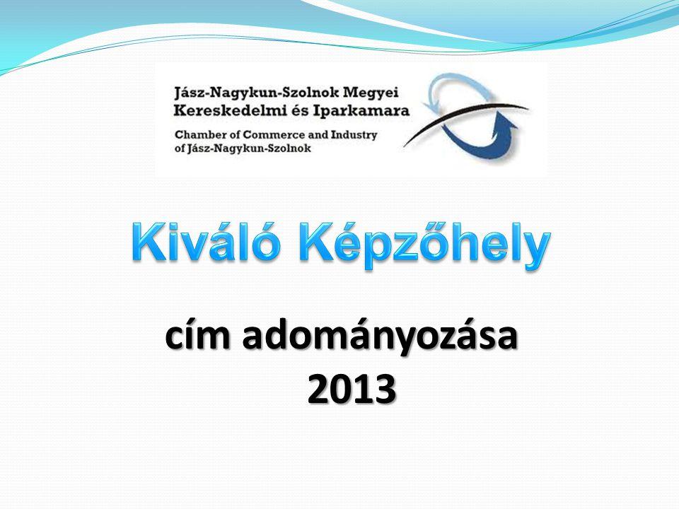cím adományozása 2013