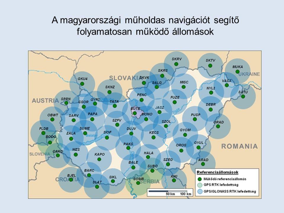 A magyarországi műholdas navigációt segítő folyamatosan működő állomások