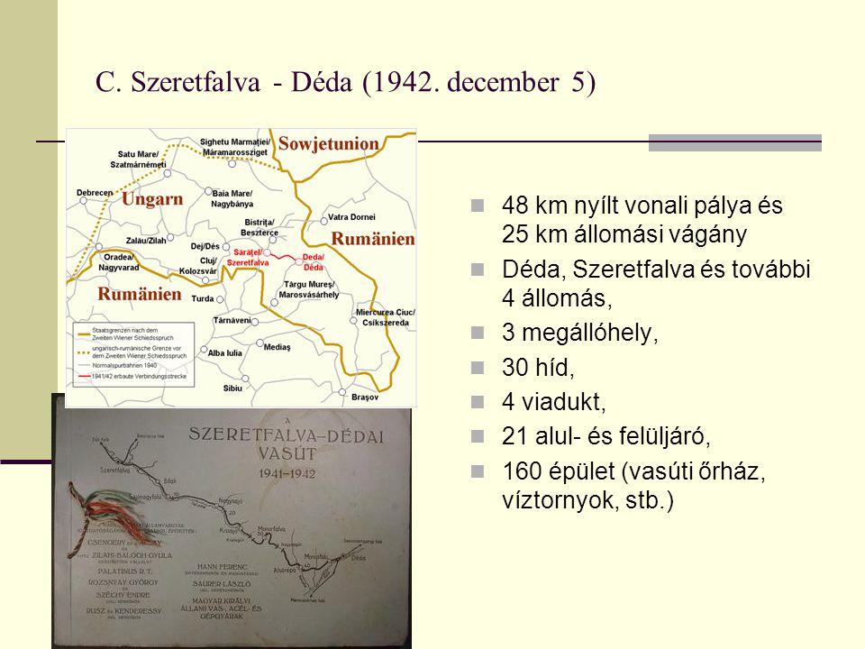 C.Szeretfalva - Déda (1942.