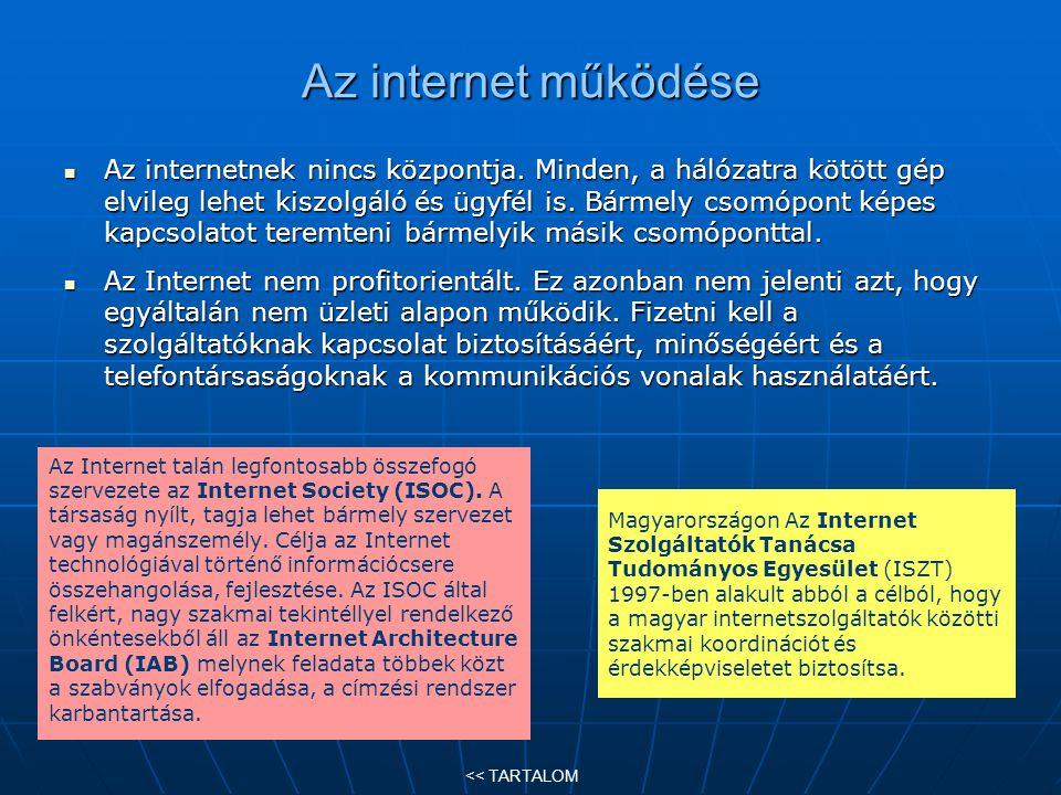 Internetes keresők (2) Vannak olyan szavak, szókapcsolatok, amelyekre akár több ezer találatot is kaphatunk.