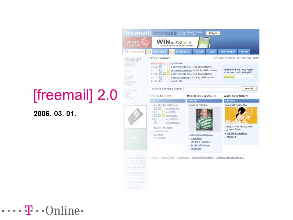 [freemail] 2.0 2006. 03. 01.