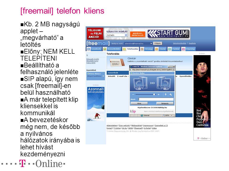 [freemail] telefon kliens Kb.