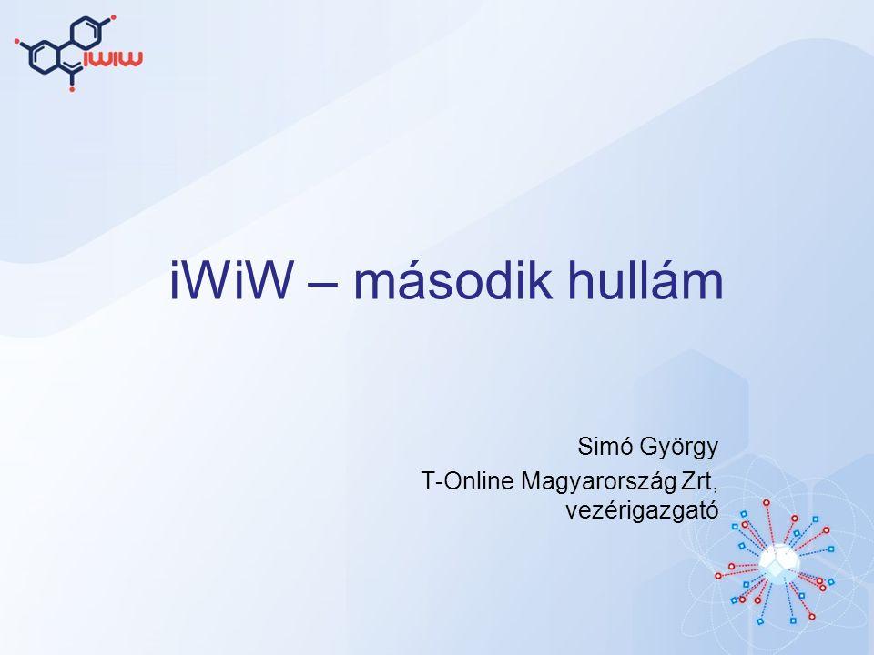 iWiW – második hullám Simó György T-Online Magyarország Zrt, vezérigazgató