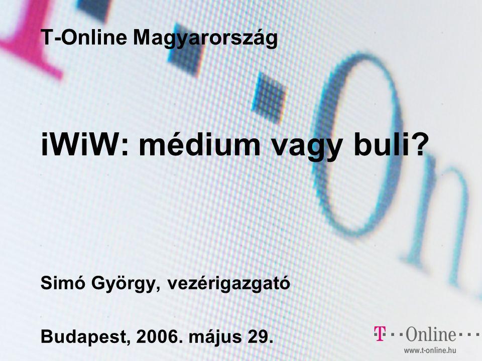 12.oldal Az iwiw progresszív befektetés Mi a közösségi-ismerősi hálózatok jövője.