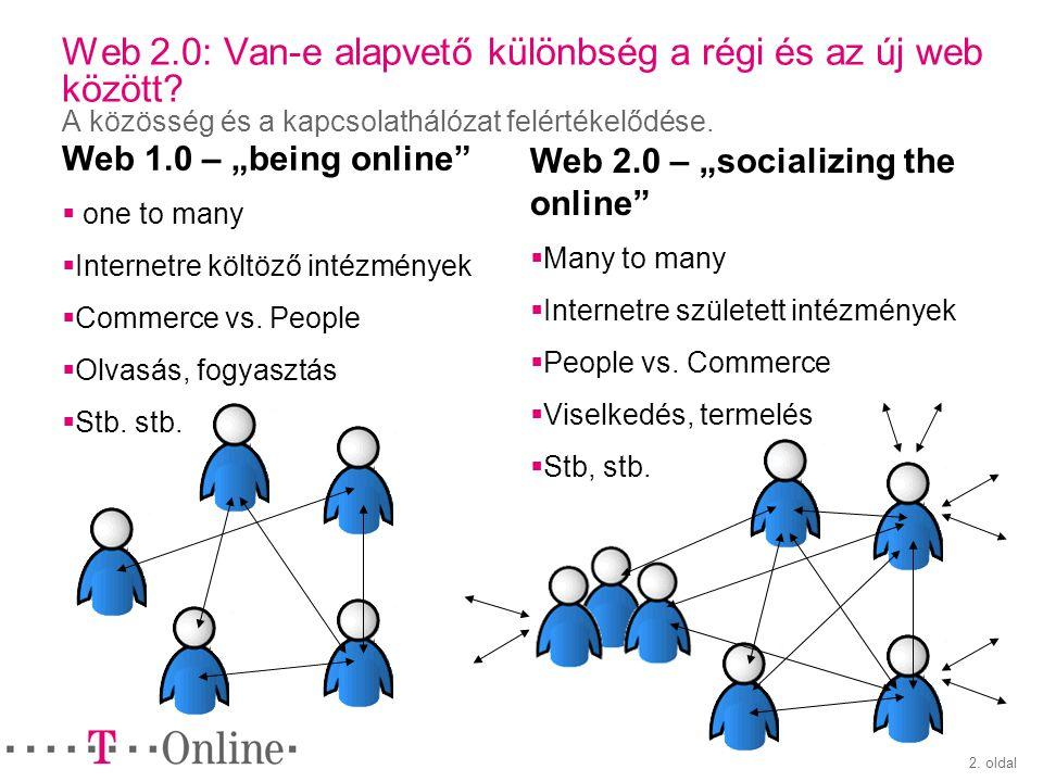 3.oldal Tudjuk-e mi a Web 2.0.
