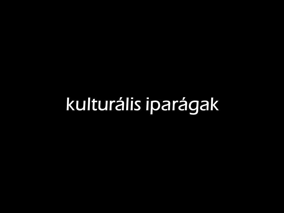 kulturális iparágak