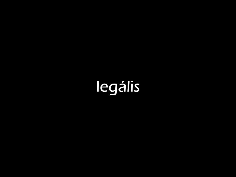 legális