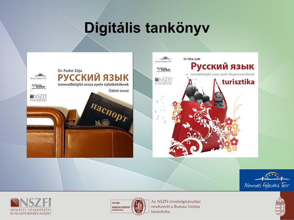 8 Digitális tankönyv