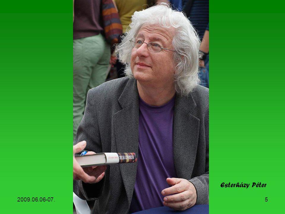 2009.06.06-07.Könyvhét, 20095 Esterházy Péter