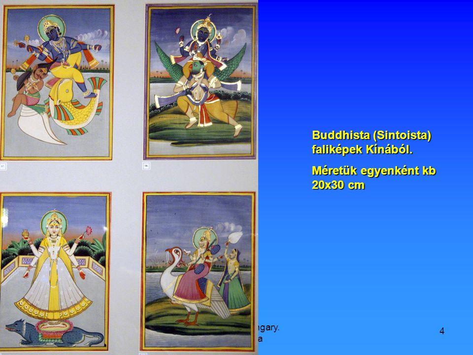 9/21/2008 Hop Ferenc, Hungary. Károlyi Palota 4 Buddhista (Sintoista) faliképek Kínából.
