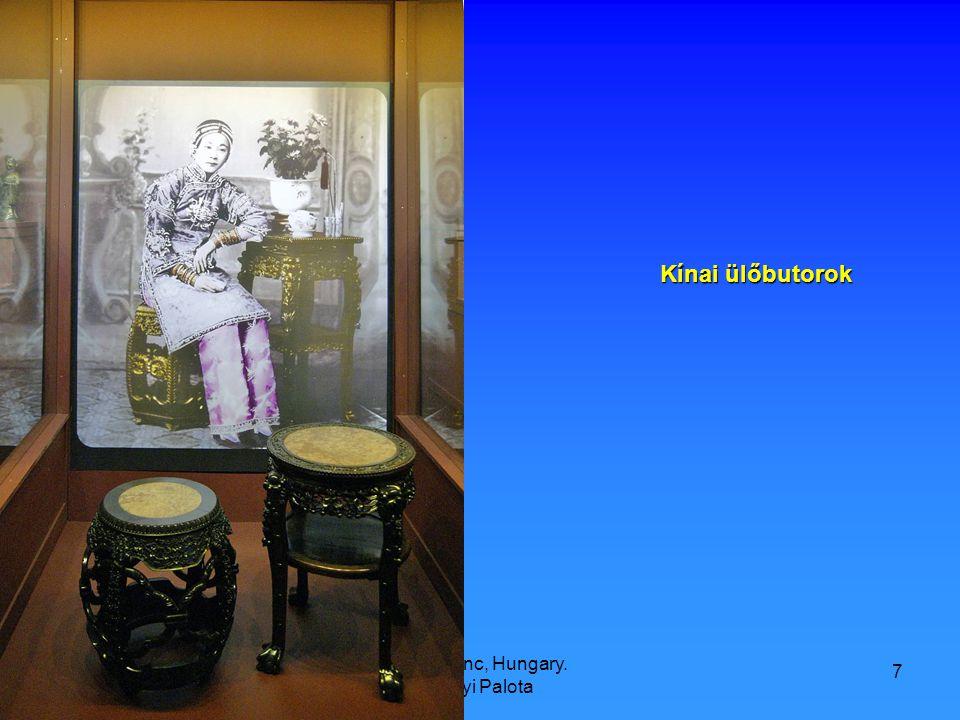 9/21/2008 Hop Ferenc, Hungary. Károlyi Palota 7 Kínai ülőbutorok