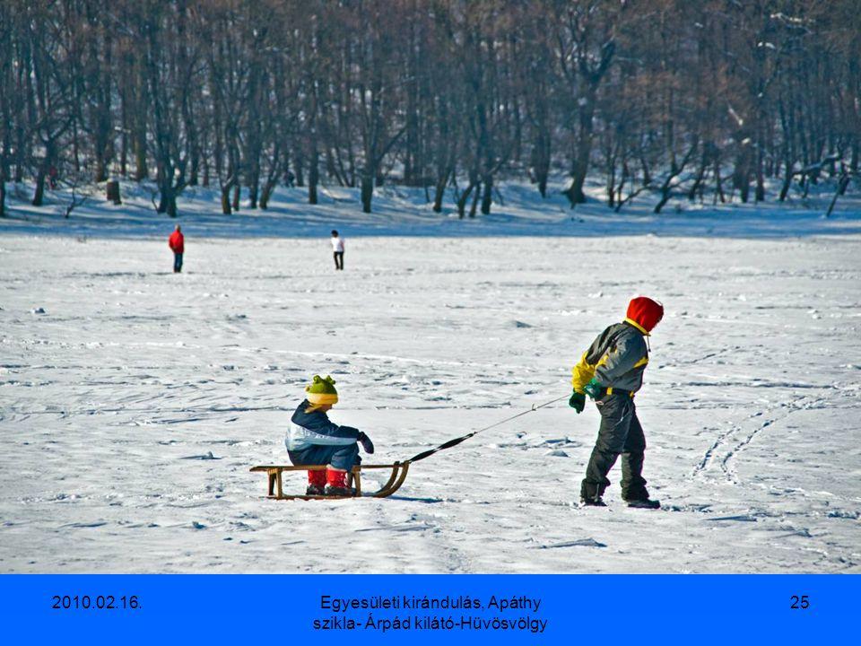 2010.02.16.Egyesületi kirándulás, Apáthy szikla- Árpád kilátó-Hüvösvölgy 24