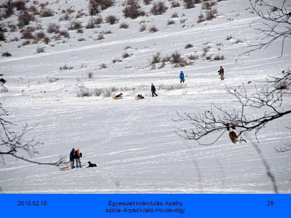 2010.02.16.Egyesületi kirándulás, Apáthy szikla- Árpád kilátó-Hüvösvölgy 28