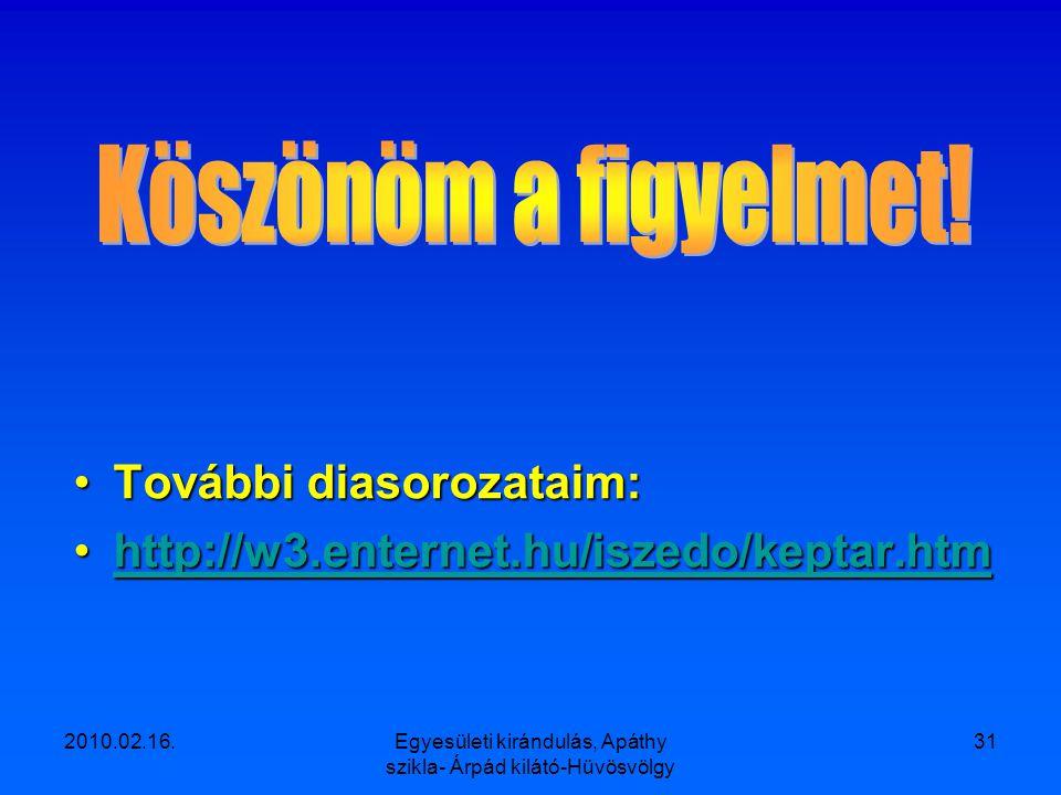 2010.02.16.Egyesületi kirándulás, Apáthy szikla- Árpád kilátó-Hüvösvölgy 30