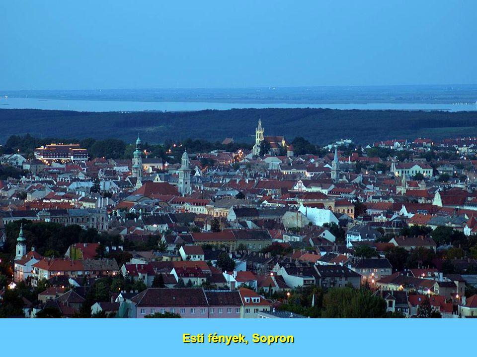 Esti fények, Sopron