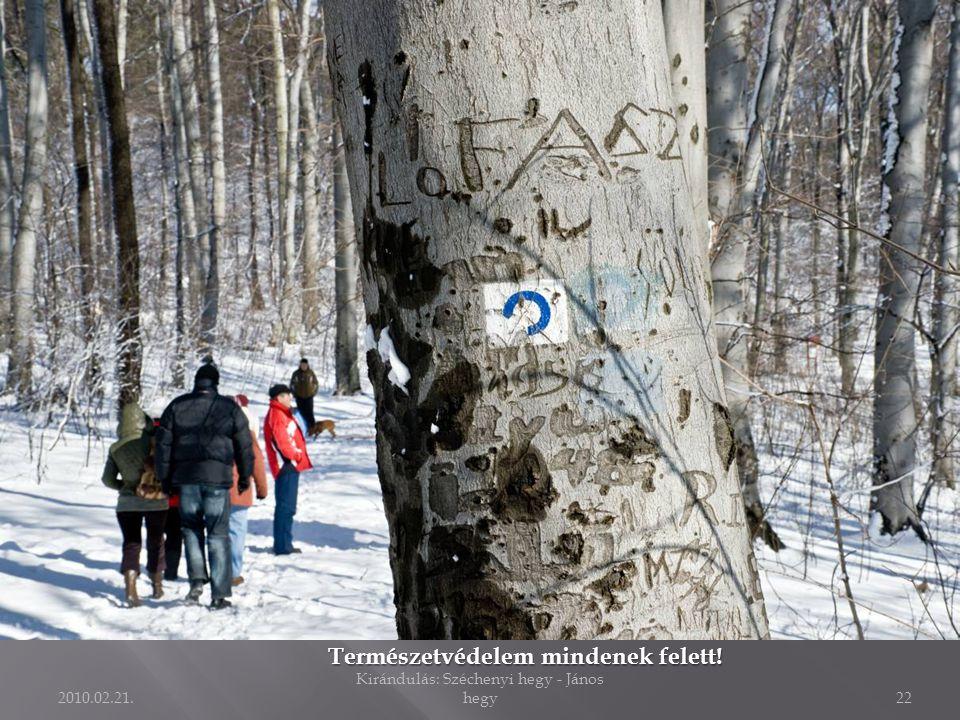 2010.02.21. Kirándulás: Széchenyi hegy - János hegy21