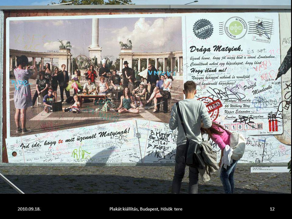 2010.09.18.Plakát kiállítás, Budapest, Hősök tere11
