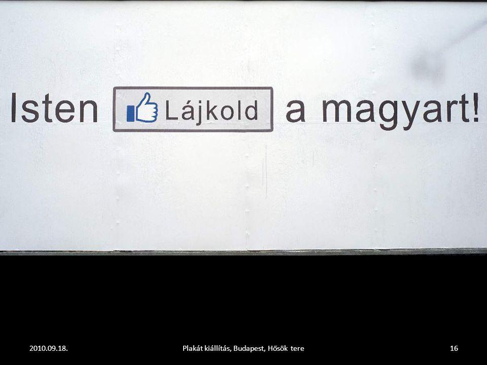 2010.09.18.Plakát kiállítás, Budapest, Hősök tere15