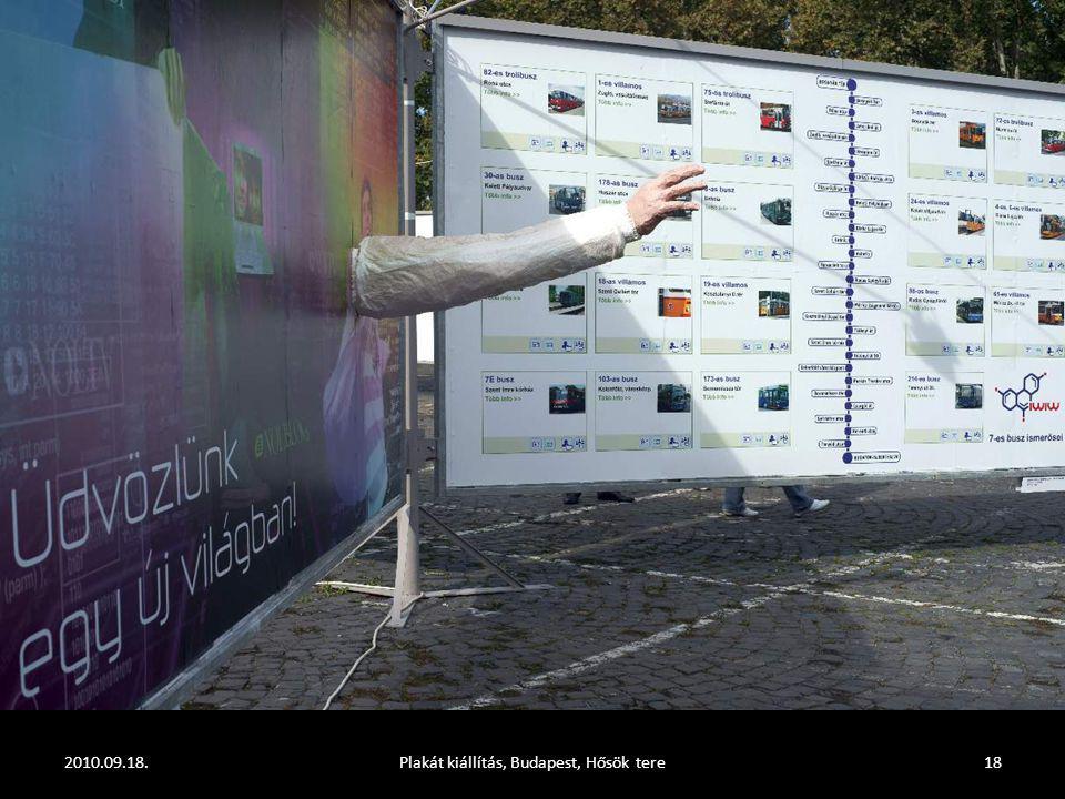 2010.09.18.Plakát kiállítás, Budapest, Hősök tere17