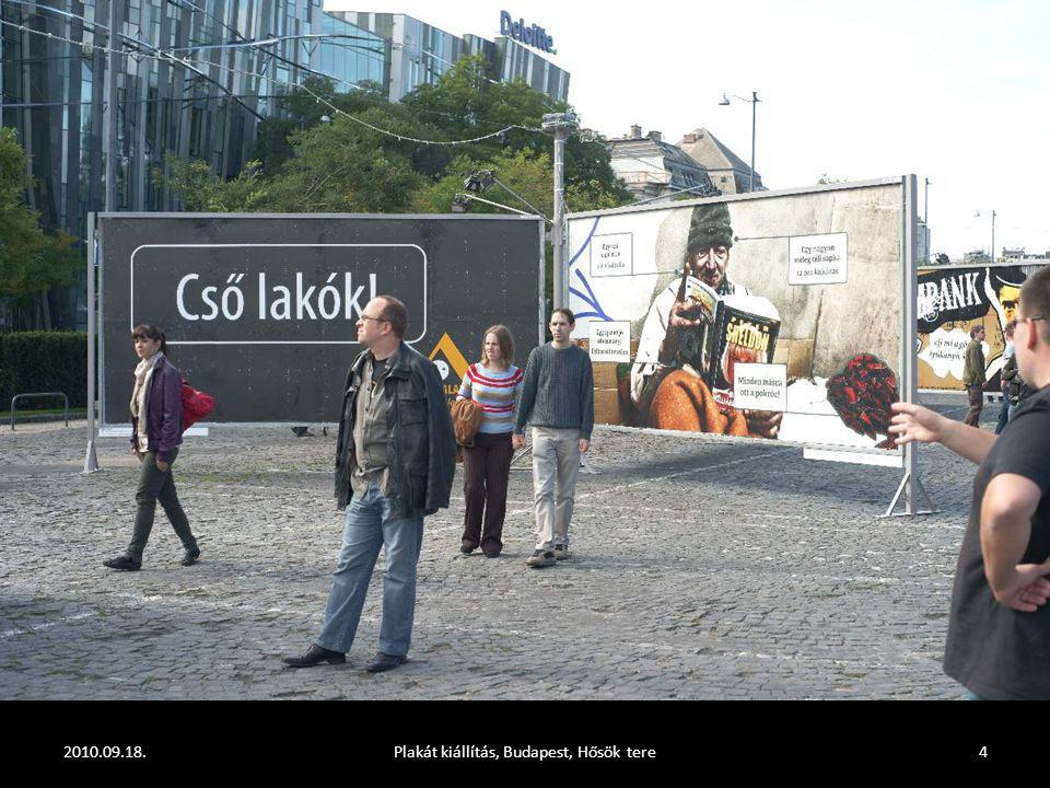 2010.09.18.Plakát kiállítás, Budapest, Hősök tere4