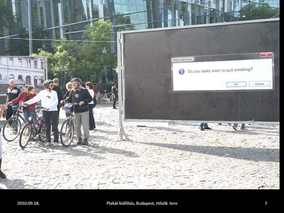 2010.09.18.Plakát kiállítás, Budapest, Hősök tere7