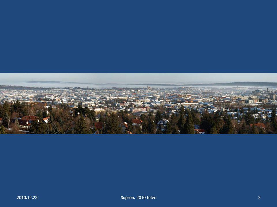 2010.12.23.Sopron, 2010 telén2