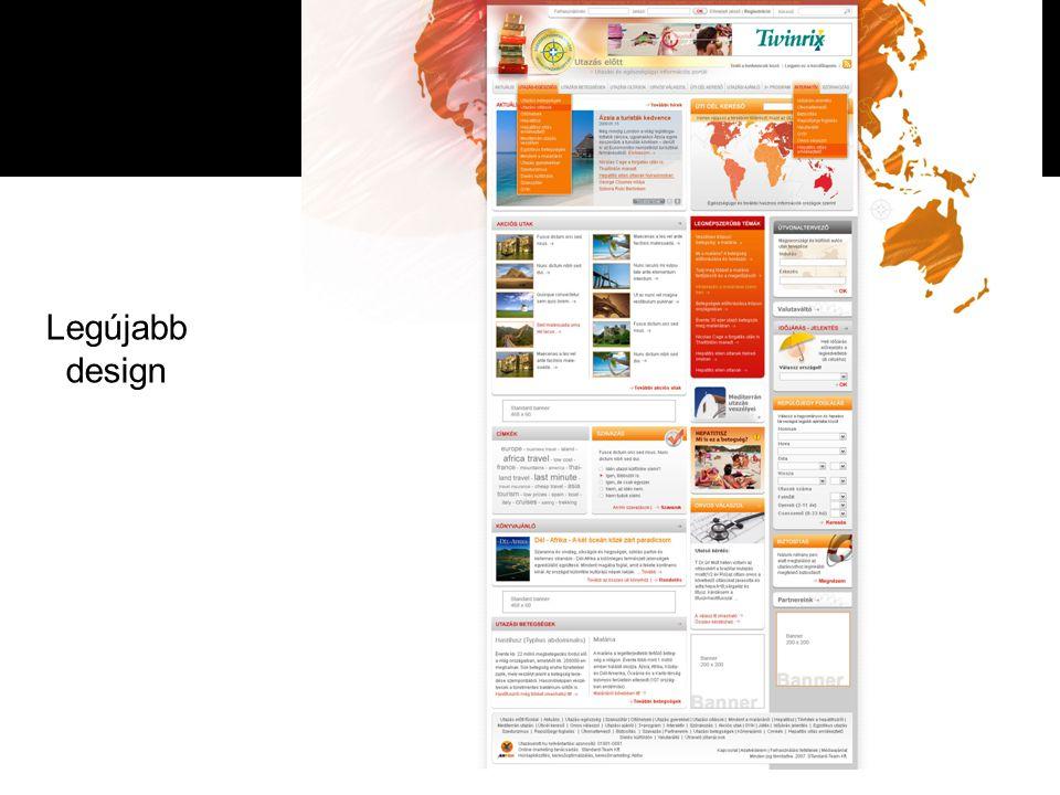 Eredmények 2006.máj.-2009. febr. 1. designváltás és fejlesztés 2.
