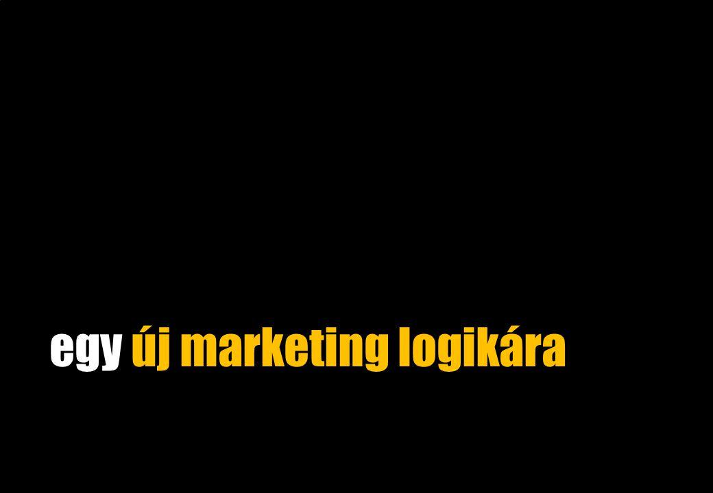egy új marketing logikára