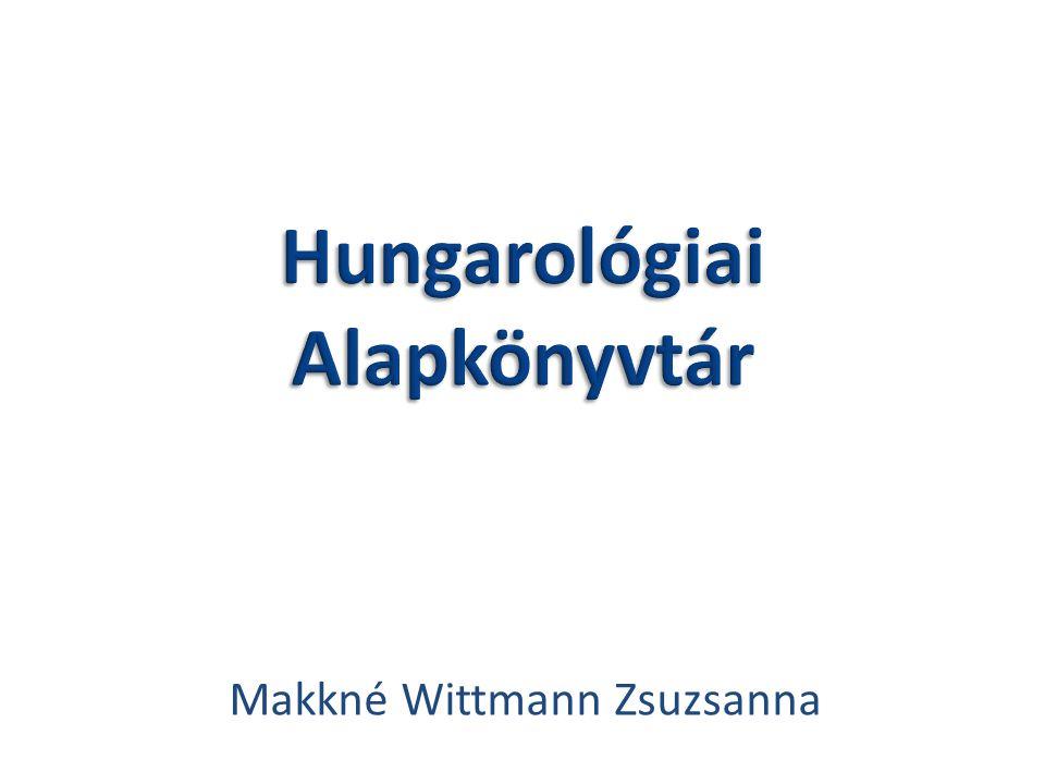 Makkné Wittmann Zsuzsanna