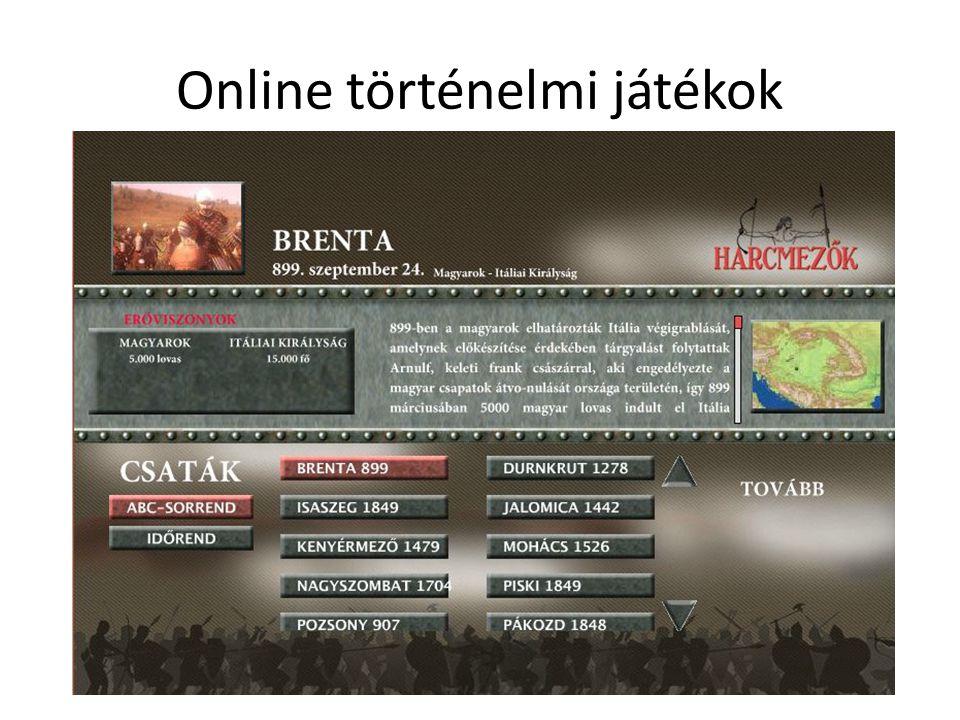 Online történelmi játékok
