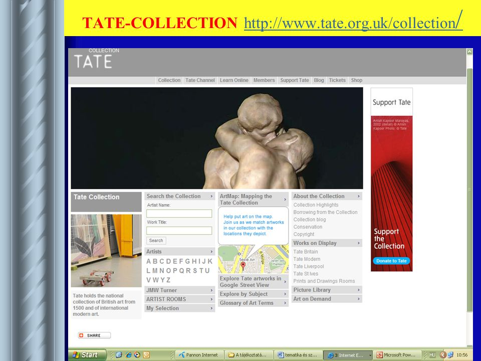 TATE-COLLECTION http://www.tate.org.uk/collection /http://www.tate.org.uk/collection /