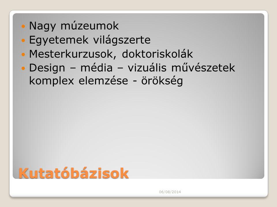 Művészettudomány - Képzőművészet 06/08/2014