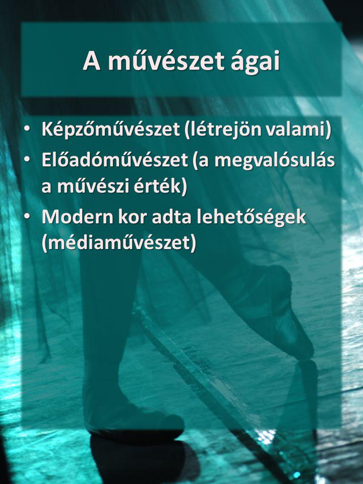 Tematikus információforrások - képzőművészet Képzőművészet Magyarországon Képzőművészet Magyarországon – Honfoglalástól napjainkig (román kortól a XX.