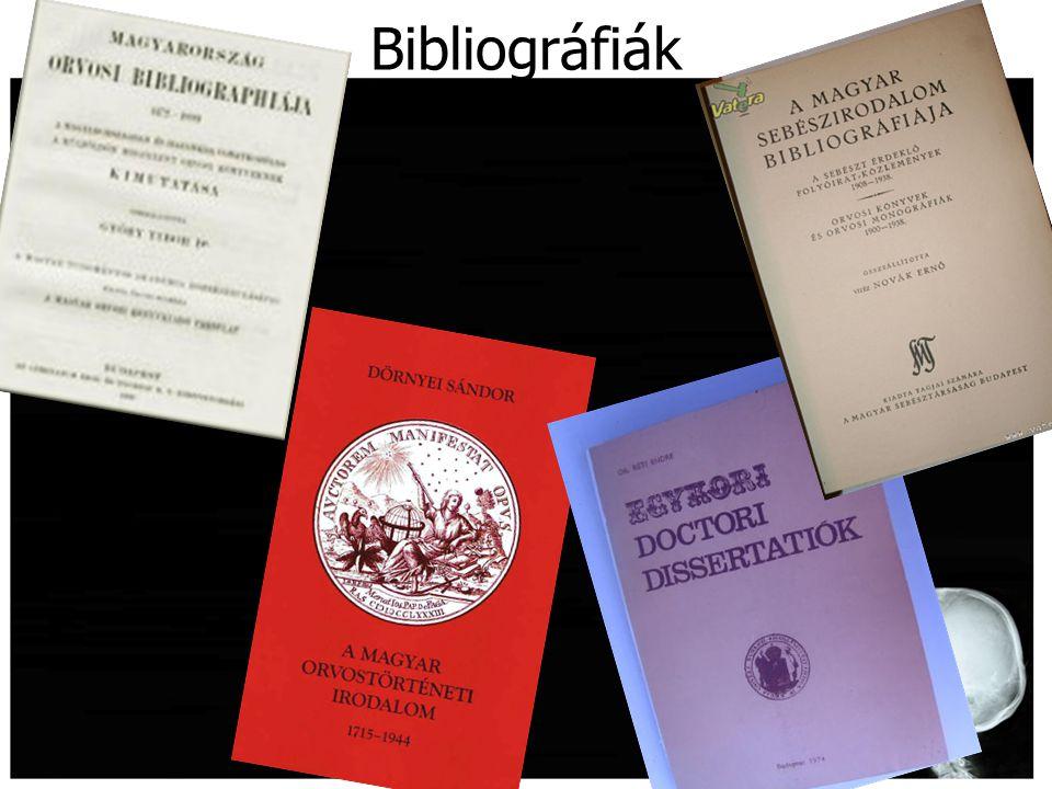 Bibliográfiák