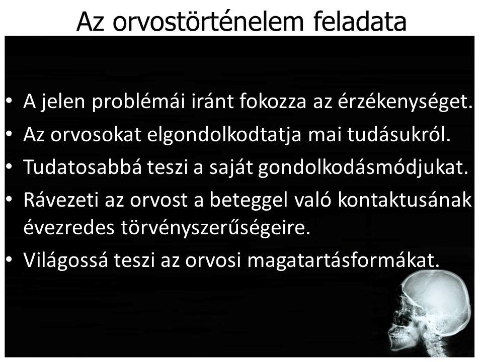 Járványirodalom Weszprémi István: Tentamen de inoculanda peste Adam Chenot: Tractatus de peste.