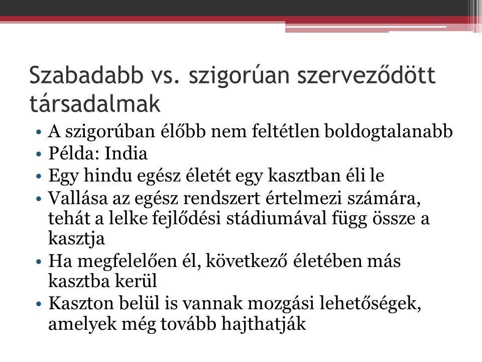 Szabadabb vs.