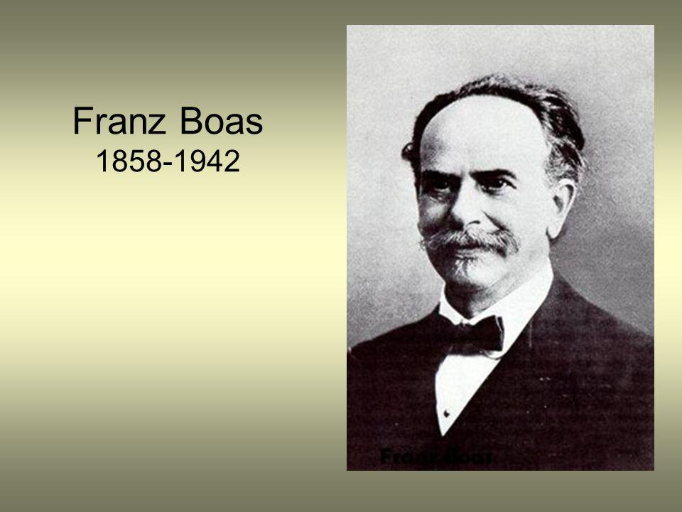 Franz Boas 1858-1942