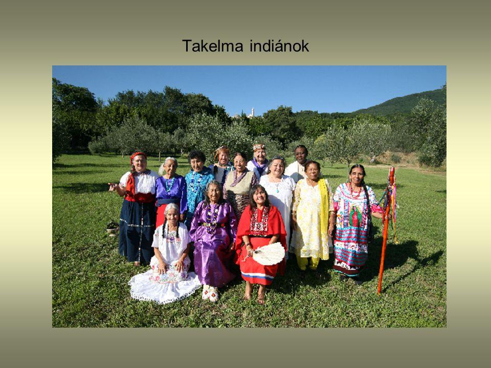 Takelma indiánok